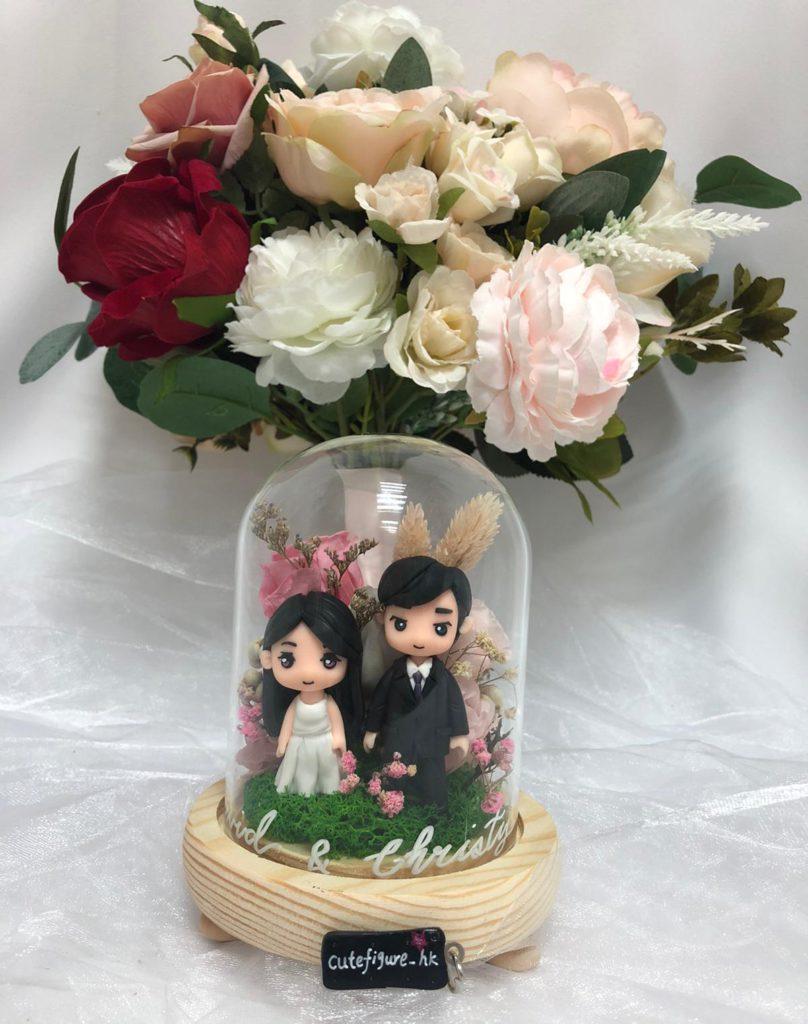 公仔保鮮花