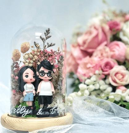 人像保鮮花